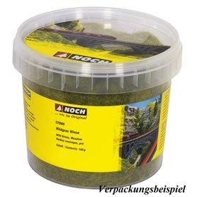 Noch 07095 Vildgräs XL, ängsgrön, 12 mm, 80 gram i burk