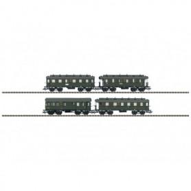 Trix 24353 Personvagnsset med 4 st personvagnar DRG