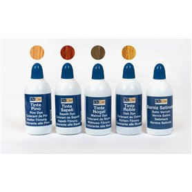 Occre 90501 Pack of waterbasis dye and varnish