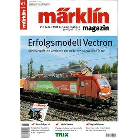 Märklin 360368 Märklin Magazin 3/2021 Tyska