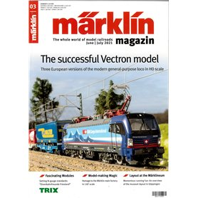 Märklin 360369 Märklin Magazin 3/2021 Engelska