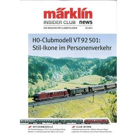 Märklin INS032021T Märklin Insider 03/2021 Tyska
