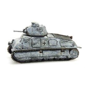 Artitec 38769WG Tanks Somua 1935 S captured, vinterkamouflage
