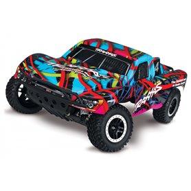 Traxxas 58034-1-HWN Slash 2WD 1/10 RTR TQ Hawaiian med Batteri & Laddare