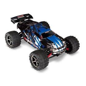 Traxxas 71076-3-BLU E-Revo 1/16 VXL 4WD RTR TQi TSM Blå - Med Batt/Laddare