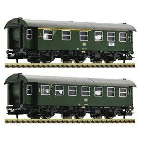 Fleischmann 809909 2 piece set conversion coaches, DB