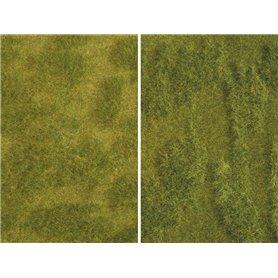 "Noch 07470 Minigräsmatta, ""Lush Meadow"", 25 x 25 cm, 2 st"