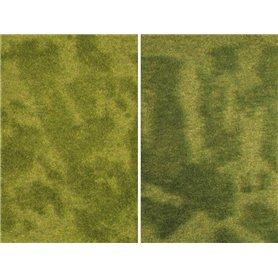 """Noch 07471 Minigräsmatta, """"Reed Meadow"""", 25 x 25 cm, 2 st"""