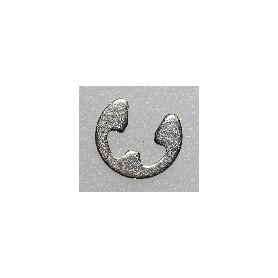 Märklin 608020 Spårryttare DIN 6799, tjocklek 0,6 mm, för axelbredd 3-4 mm, svart, 1 st