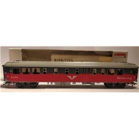 Märklin 4378 Restaurantvagn 4845 R1R typ SJ