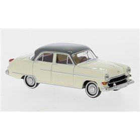 Brekina 20876 Opel Kapitän 1954, beige/grå