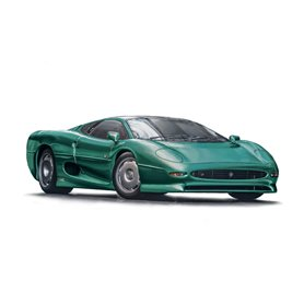 Italeri 3631 Jaguar XJ 220