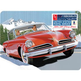 AMT 1251 1953 Studebaker Starliner - Usps with collectible tin