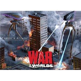 "Pegasus Hobbies 9006 Tripods Attack Diorama Kit ""War of the Worlds"""