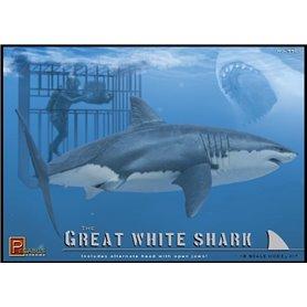 Pegasus Hobbies 9501 Great White Shark & Diver