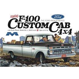 Moebius Models 1236 Ford F100 Custom Cab 4 x 4 Pickup