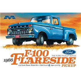 Moebius Models 1232 1966 Ford F-100 Flareside Pickup