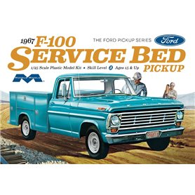 Moebius models 1239 1967 Ford F100 Service Bed Pickup