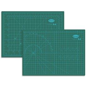 """Allwin A4 Skärmatta A4, mått 30 x 22 cm, 3 mm tjock, grön, """"self healing"""", 3 lager"""