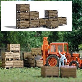 Busch 1980 Wooden harvest crates