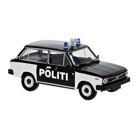 "Brekina 27630 Volvo 66 ""Politi"""