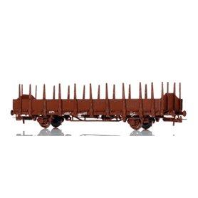 NMJ 601101 Stolpvagn litt. Os SJ med driftnummer 370-0 445-0