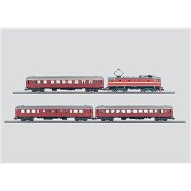"""Märklin 26726 Tågset """"SJ"""" Ellok med 3 st personvagnar"""