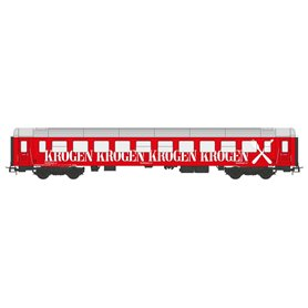 "NMJ 106902 Restaurangvagn Krogen ""Snälltåget"" R7 5634 röd"