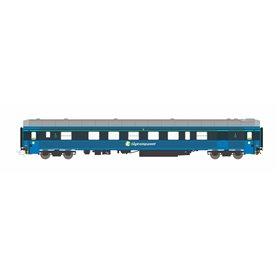 HNoll HN.TK161AC Sittvagn BF4 5409 (505) Tågkompaniet Blå Gen.2