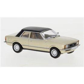 Brekina 870004 Ford Taunus TC2 1976, metallic-beige/matt-svart, PCX