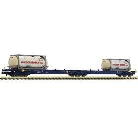 Fleischmann 825338 Double container carrier wagon type Sggmrs, ERR