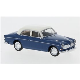 Brekina 29239 Volvo Amazon, 4-dörrar, 1956, blå/vit