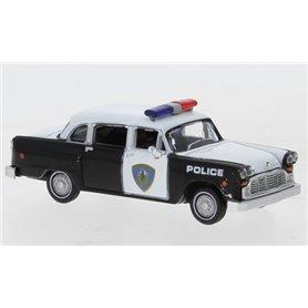 Brekina 58942 Checker Cab, Saugus Squad Car, 1974, Police Car