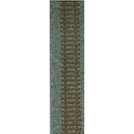 Tillig 86559 Rälsbädd, grå, för Tillig flexskena 950 mm med trä-slipers