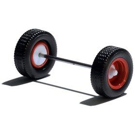 Herpa Exclusive 690125C Däck/hjulaxel, släpaxel, 1 st, röd/vit