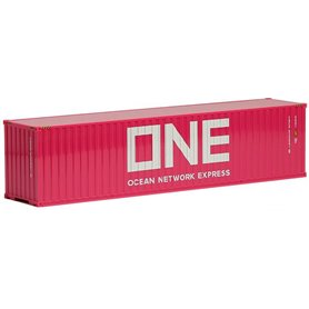 """Herpa Exclusive 491720 Highcube Container """"ONE"""" 40 fots, rosa (AWM)"""