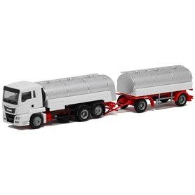 MAN TGS L Euro6c, mjölktank semitrailer, 3/2-axlig