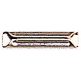 Fleischmann 6436 Skarvjärn, metall, 20 st, för att kombinera Modell-räls med Profi-räls