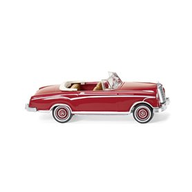Wiking 14301 MB 220 S Cabrio - ruby red