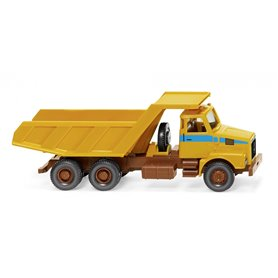 Wiking 67106 Tipper trailer (Volvo N10) - maize yellow