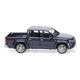 Wiking 31146 VW Amarok GP Highline - starlight blue metallic