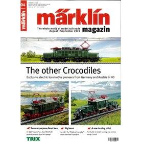 Märklin 360374 Märklin Magazin 4/2021 Engelska
