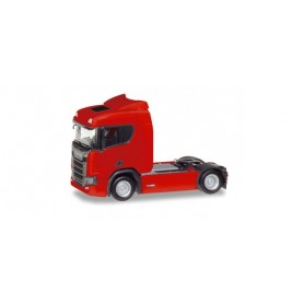 Herpa 307642-002 Scania CR 20 low roof rigid tractor, red