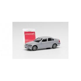 Herpa 012416-008 Herpa MiniKit. BMW 3er™ Limousine E46, silver grey
