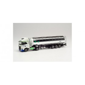Herpa 314084 Iveco S-Way NP food tank semitrailer 'ADAMI'
