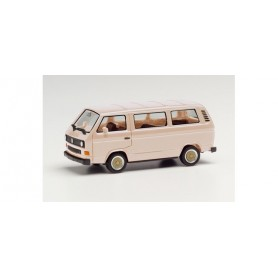 Herpa 420914-002 VW T3 Bus with BBS wheels, beige