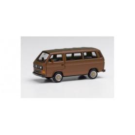 Herpa 430876-002 VW T3 Bus with BBS wheels, bronze beige metallic