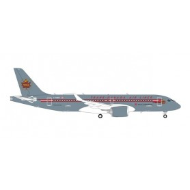 Herpa Wings 571593 Flygplan Air Canada Airbus A220-300 - Trans Canada Air Lines retro livery – C-GNBN