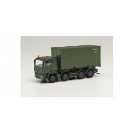 """Herpa 746809 MAN TGA L 8x4 swap body truck """"Austrian Army"""""""