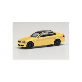Herpa 023863-002 BMW M3 Coupé, dakar yellow | black rims